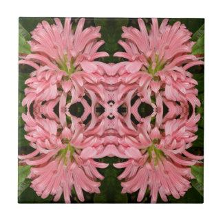 Flor reflexión enero de 2013 rosado azulejo