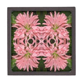 Flor reflexión enero de 2013 rosado cajas de recuerdo de calidad