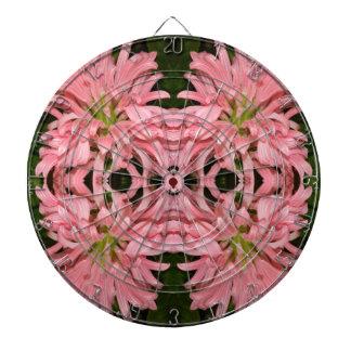 Flor reflexión enero de 2013 rosado tabla dardos