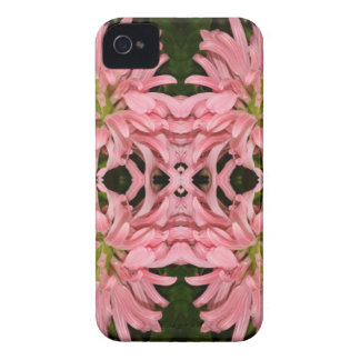 Flor reflexión enero de 2013 rosado iPhone 4 Case-Mate coberturas