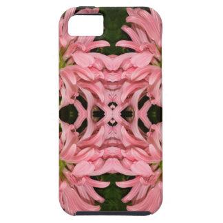 Flor reflexión enero de 2013 rosado iPhone 5 protector