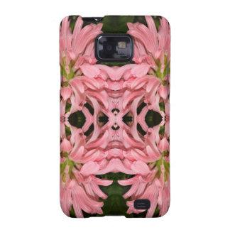 Flor reflexión enero de 2013 rosado samsung galaxy SII funda