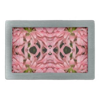 Flor reflexión enero de 2013 rosado hebillas cinturon