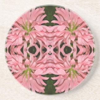 Flor reflexión enero de 2013 rosado posavasos cerveza