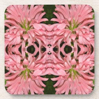 Flor reflexión enero de 2013 rosado posavasos de bebidas