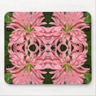 Flor reflexión enero de 2013 rosado alfombrillas de raton