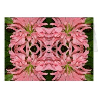 Flor reflexión enero de 2013 rosado felicitaciones