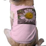 Flor resistida margarita camisas de perritos