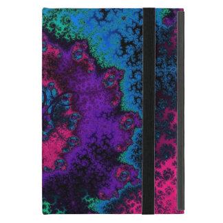 Flor retra loca del fractal iPad mini coberturas