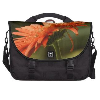 Flor roja bolsa de ordenador