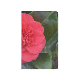 Flor roja de Camelia Cuadernos Grapados