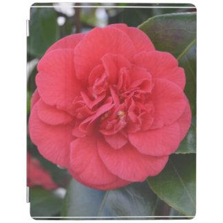 Flor roja de Camelia Cover De iPad