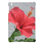 Flor roja iPad mini protectores