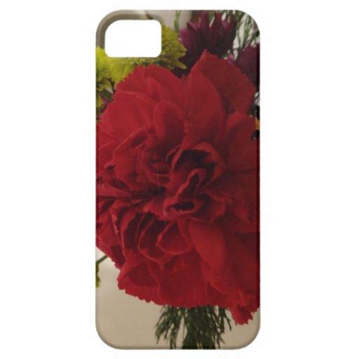 Flor roja iPhone 5 Case-Mate carcasa