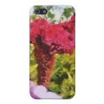 Flor roja iPhone 5 protector