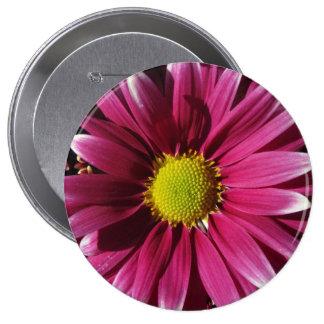Flor roja pin redondo 10 cm