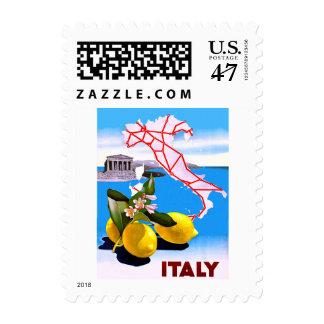 Flor romana del templo del limón de Italia Timbres Postales