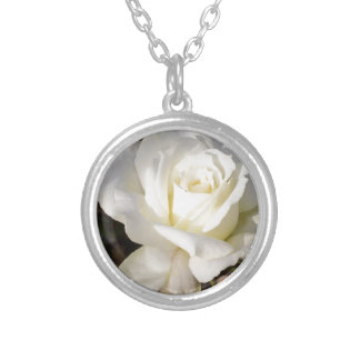 Flor romántico del rosa blanco de CricketDiane Colgantes Personalizados
