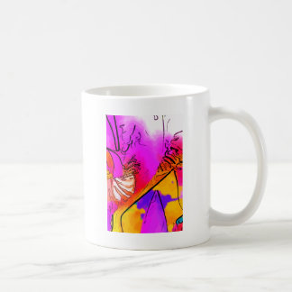 Flor rosa coffee mugs