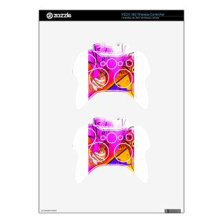 Flor rosa xbox 360 controller skins