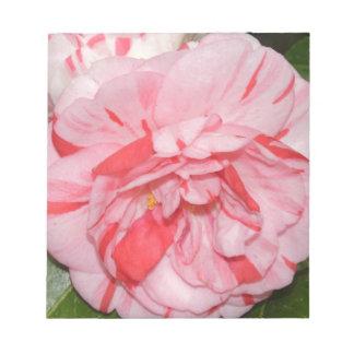 Flor rosada de Camelia Blocs De Notas