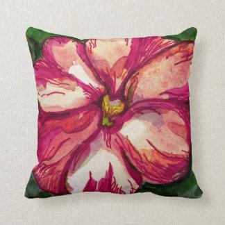 Flor rosada del bálsamo cojines