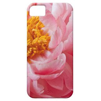 Flor rosada del Peony de la primavera - plantilla iPhone 5 Carcasa