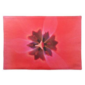 Flor rosada hermosa Placemat Manteles Individuales