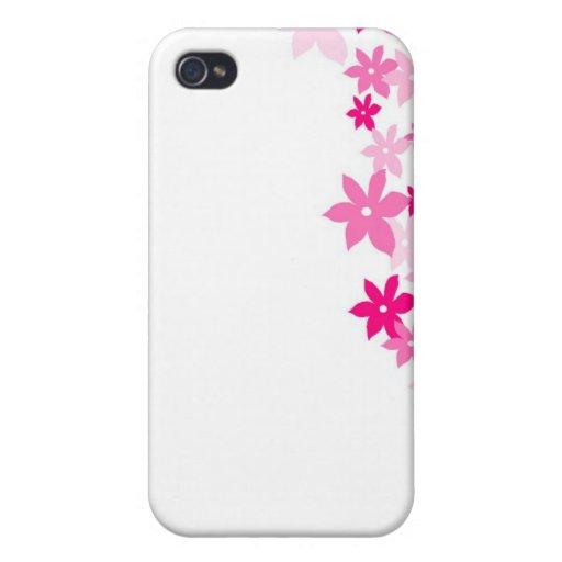 flor rosada iPhone 4 cobertura