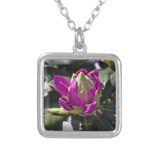 Flor rosada joyeria personalizada