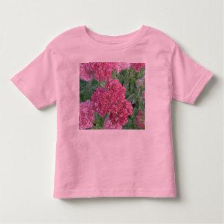 Flor rosada roja del racimo de Sedum de la alegría Playera De Bebé