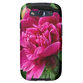 Flor rosada samsung galaxy s3 fundas