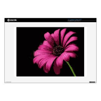 Flor rosada skins para 38,1cm portátil