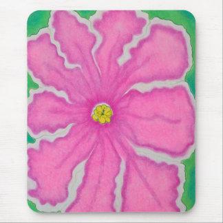 Flor rosada alfombrilla de ratón