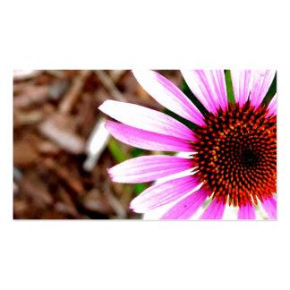 Flor rosada tarjeta de negocio