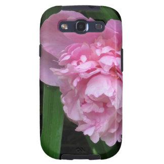 Flor rosado del Peony - fotografía Samsung Galaxy S3 Carcasas