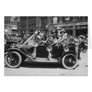 Flor Sale 1916 del Suffragette Tarjeta