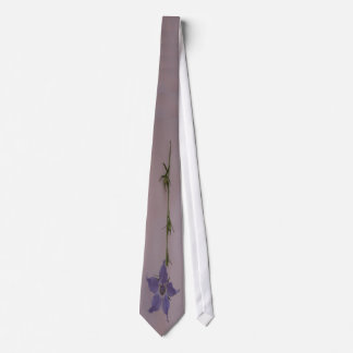 Flor salvaje corbata personalizada