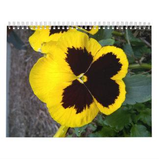 Flor salvaje de Tejas Calendarios