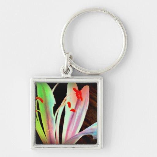 Flor salvaje llavero personalizado