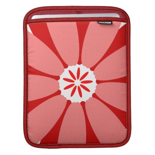 Flor salvaje roja mangas de iPad