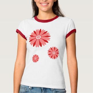 Flor salvaje roja remera