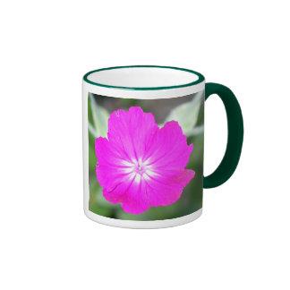 Flor salvaje tazas de café