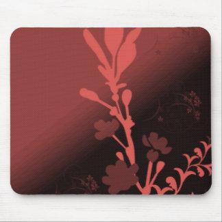 Flor sangrienta alfombrillas de raton