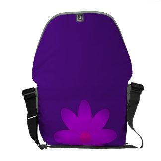Flor simbólica bolsa messenger