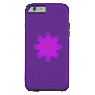 Flor simbólica funda de iPhone 6 tough