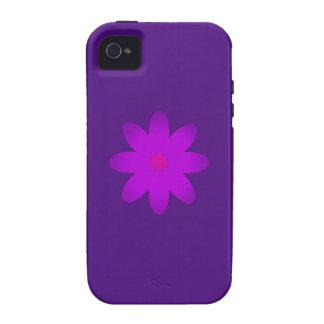 Flor simbólica iPhone 4 carcasa