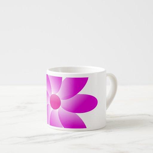 Flor simbólica tazitas espresso