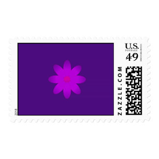 Flor simbólica timbres postales