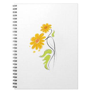 flor simple amarilla graphic.png de la tierra libros de apuntes